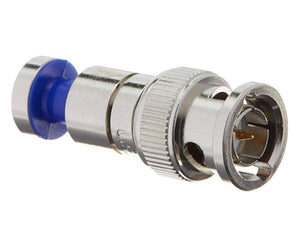 RGB Nickel SealSmart BNC 23 AWG Coax Compression Connector