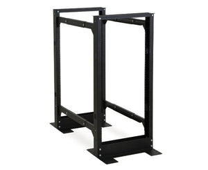 Kendal Howard 24U 4-Post Adjustable Rack - Front View