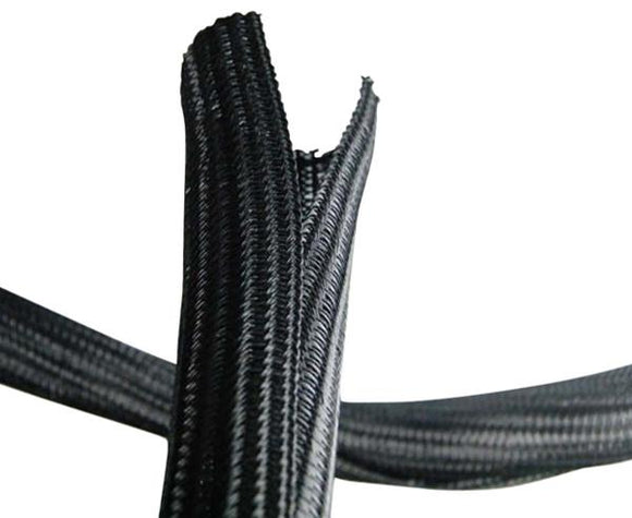 Self Closing Expandable Braided Sleeve Cable Sock 1/2