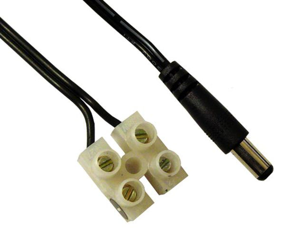 Female DC Power Supply Cord - 7 Inch