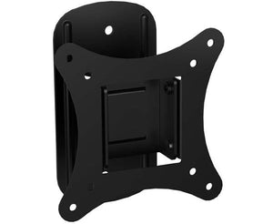 "LED, LCD & Plasma Flat TV Wall Mount 10"" to 25"" Tilt and Swivel, 2.4"" Arm, Black"