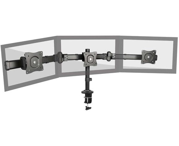Triple Monitor Desk-mount Stand/TV Mount, 13