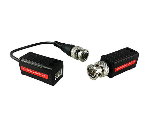 1 CH HD Video and Power Balun, Pair