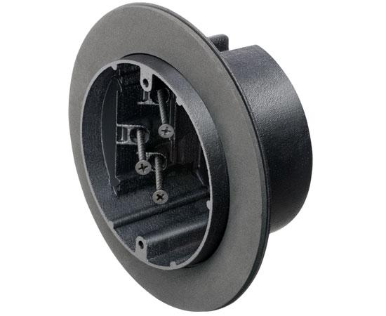 Round Screw-On Vapor Boxes For Fans or Fixtures