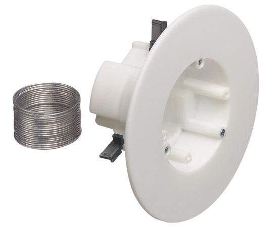 Non-Metallic CAM-BOX™ for Fixtures and Security Devices, White