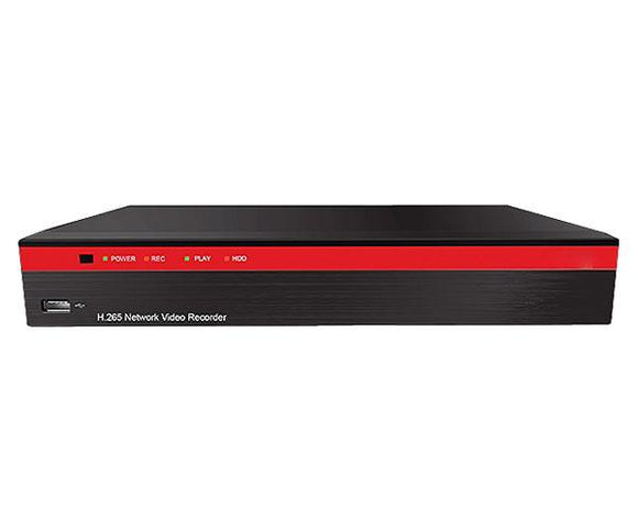 NVR, Network Video Recorder, 8 Channel, High Profile H.265, 2TB HD