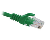CAT6 Ethernet Patch Cable, Snagless Molded Boot, RJ45 - RJ45, 10ft