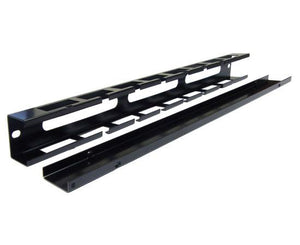 Slotted Cable Management Duct w/ Cover 1U, 2U