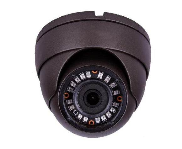 Security Camera - HD Over Coax, Fixed Lens Eyeball Dome Camera, 2.8mm, 5MP / 2MP HD, IP66