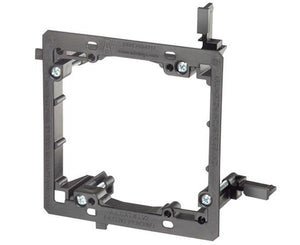 Metal Mud-Ring Drywall Bracket - Two (2) Gang