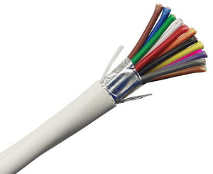 Security Alarm Cable - Plenum - 18/12 AWG, Stranded, Shielded