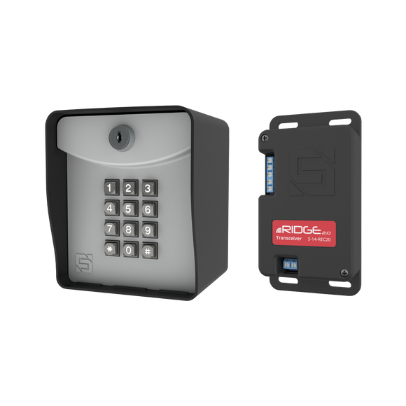 Ridge 2.0 - Wireless Keypad and Transceiver - Post Mount