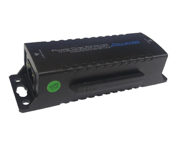 Security - IP POE Repeater, 300' Distance Per Unit, Linkable Up To 1,300'
