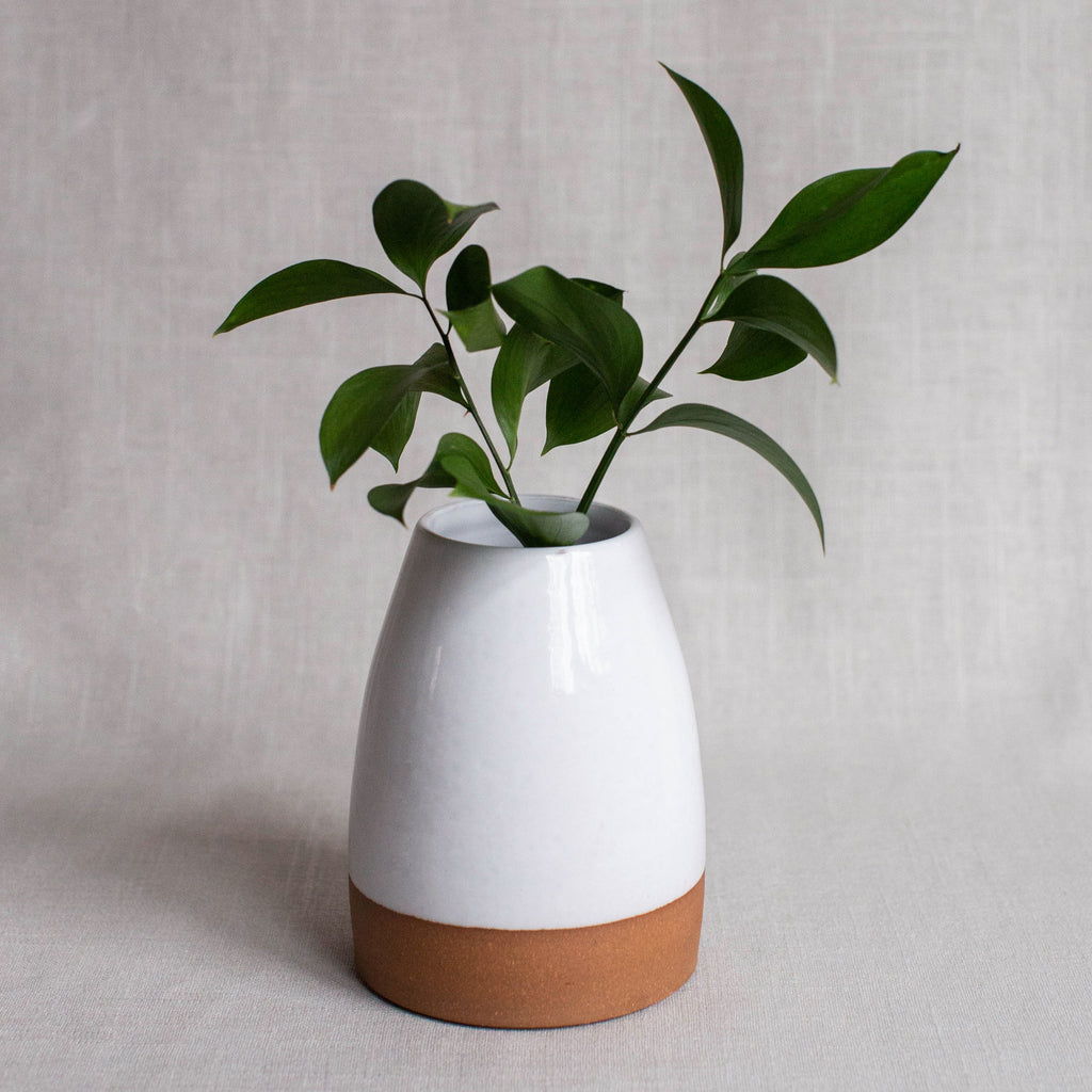 Vase in White No. 1
