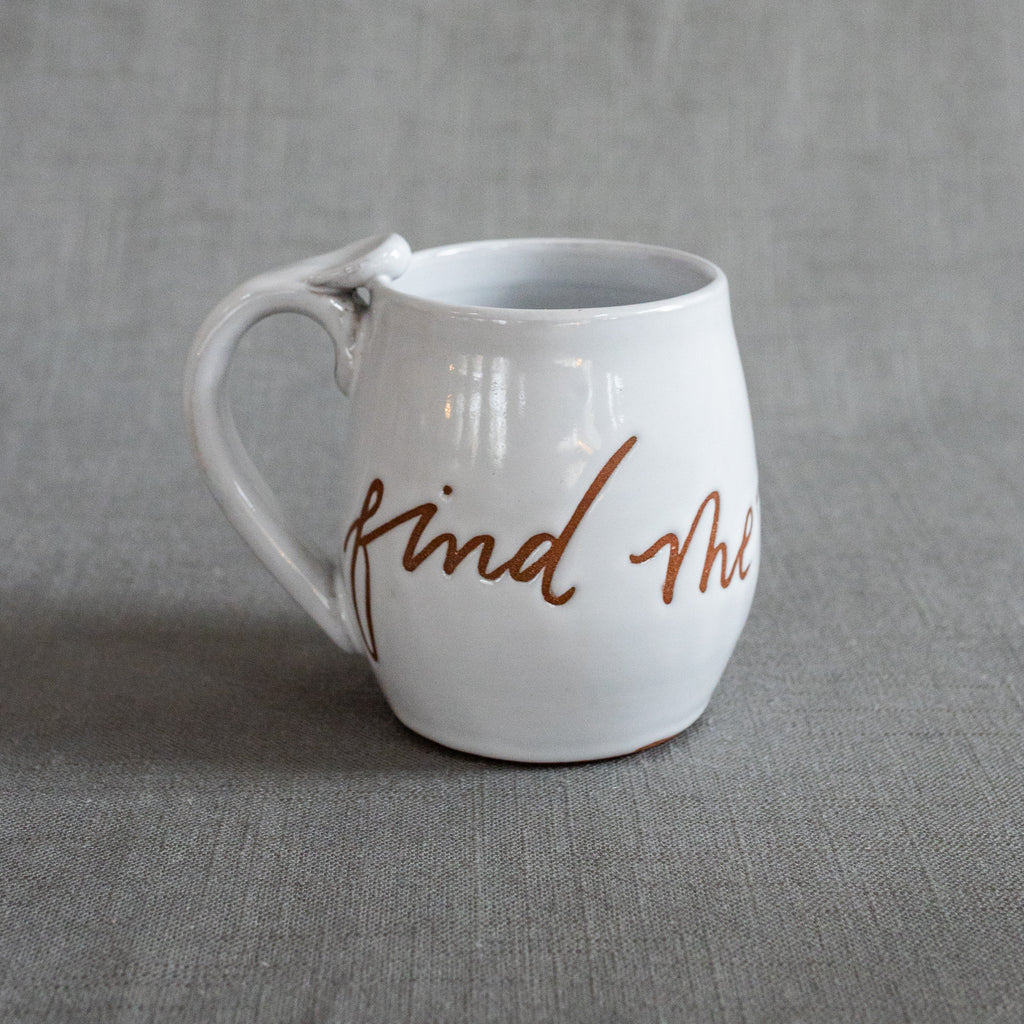 Find Me Thankful Mug