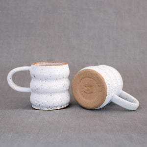 The Squiggle Mug in White
