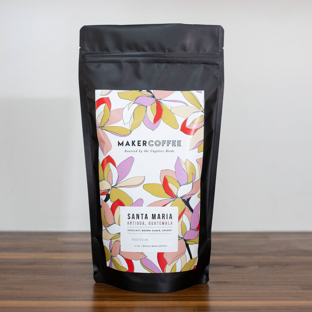 Maker Coffee : SANTA MARIA ANTIGUA, Guatemala