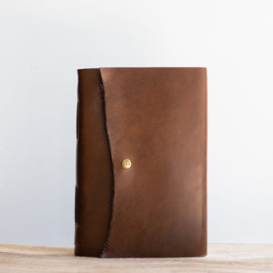 The Lined Writer in True Brown