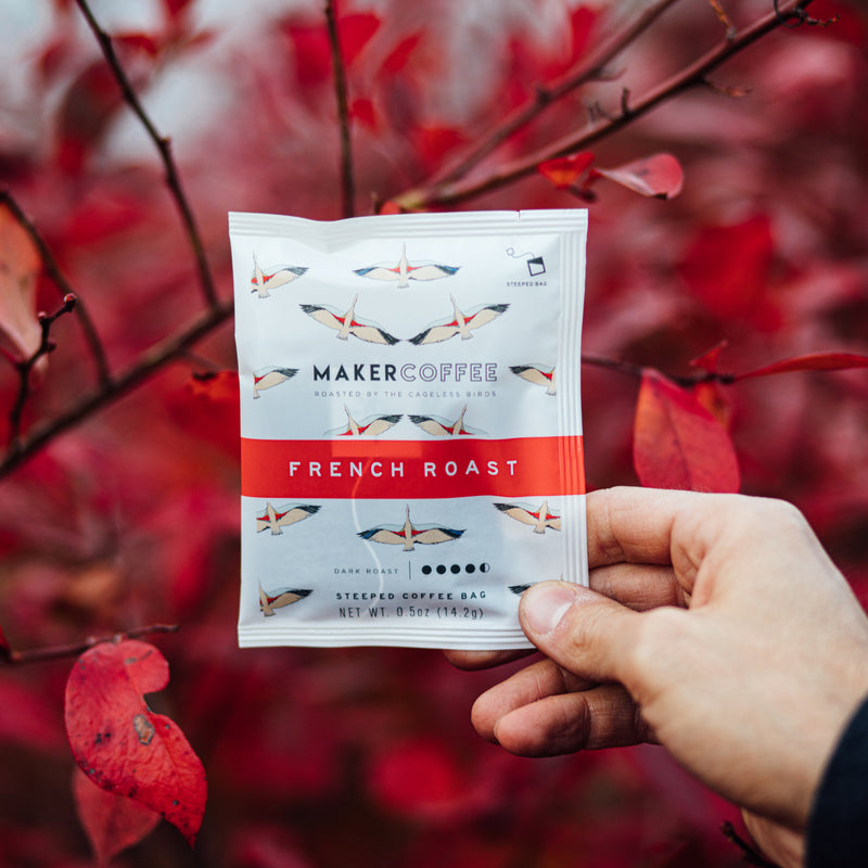 Steeped Coffee // French Roast - Single Pack