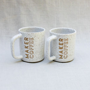 The Maker Coffee Mug in White