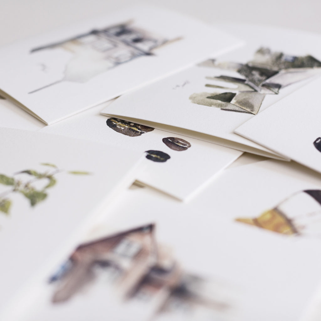 Cultivate Watercolor Cards