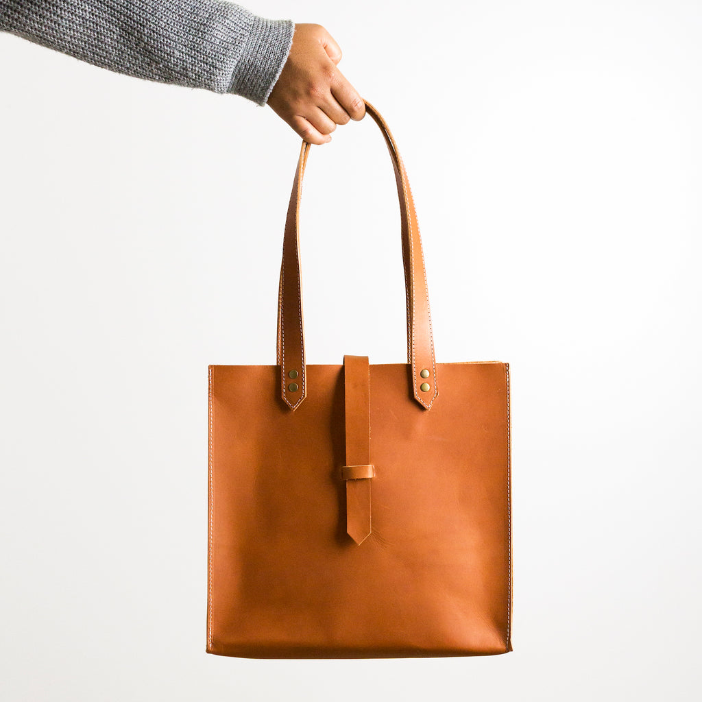 The Rosemary Tote in London Tan