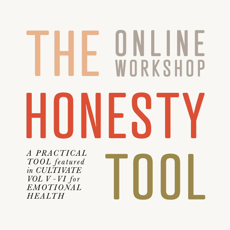The Honesty Tool Online Workshop