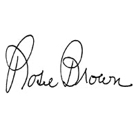 Rosie Brown Signature