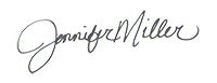 Jennifer Miller Signature
