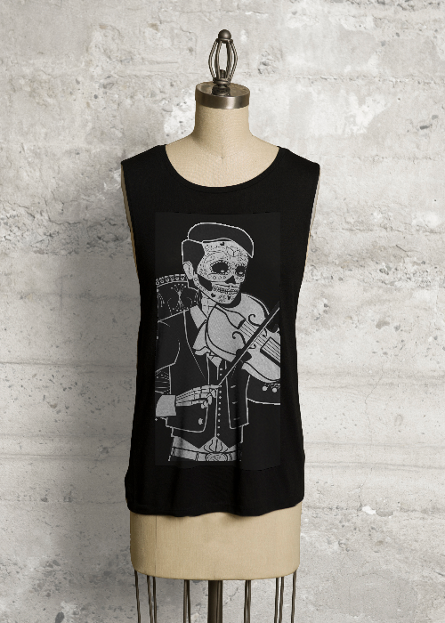 Day of the Dead Violinist
