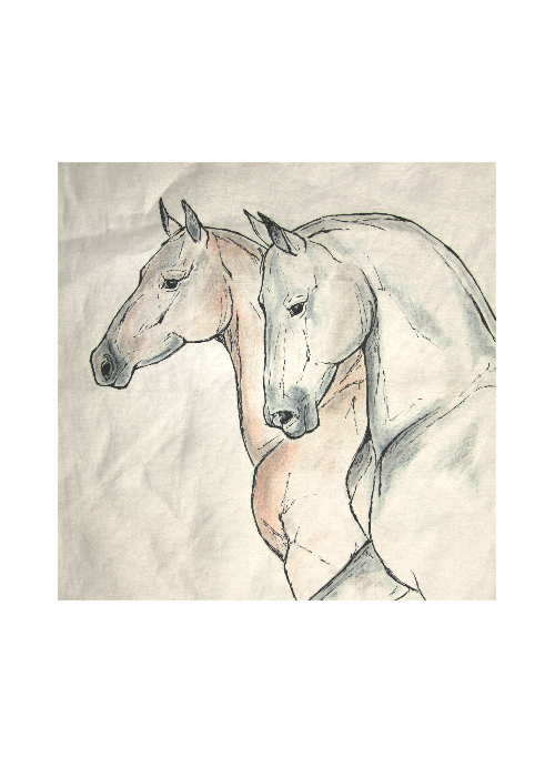 HORSE SCARF