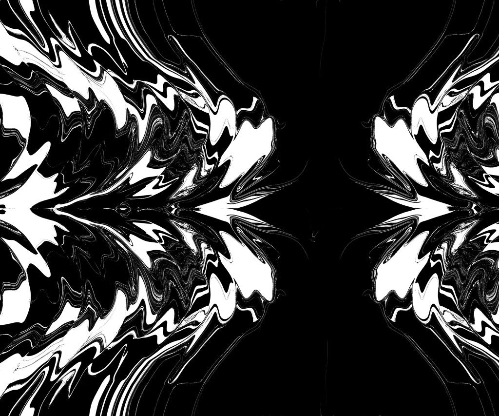 Black and White Burst