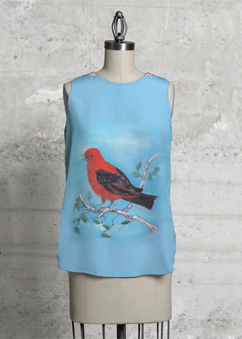 Red Tanager 1