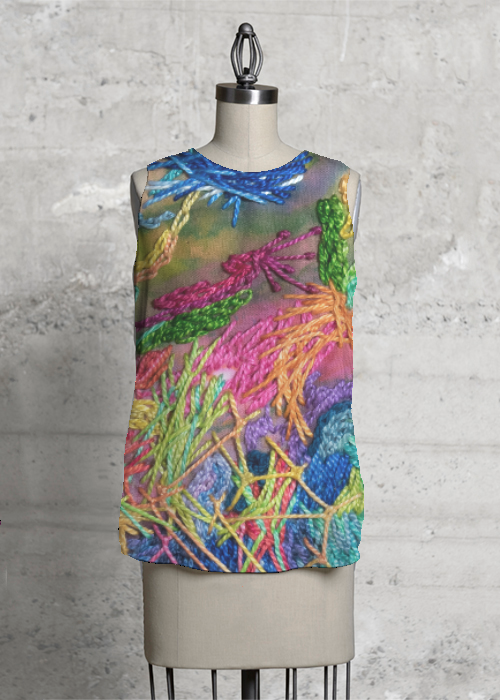 Embroidery Tank
