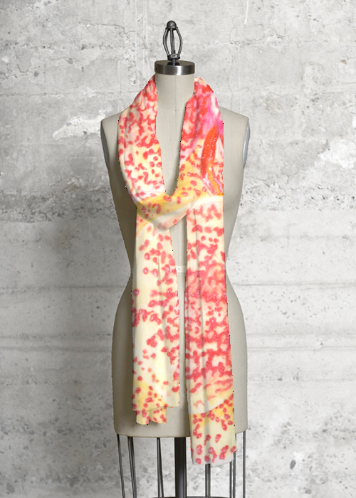 Orchid Scarf