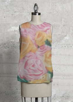 Product View - Sleeveless Top titled Love of roses