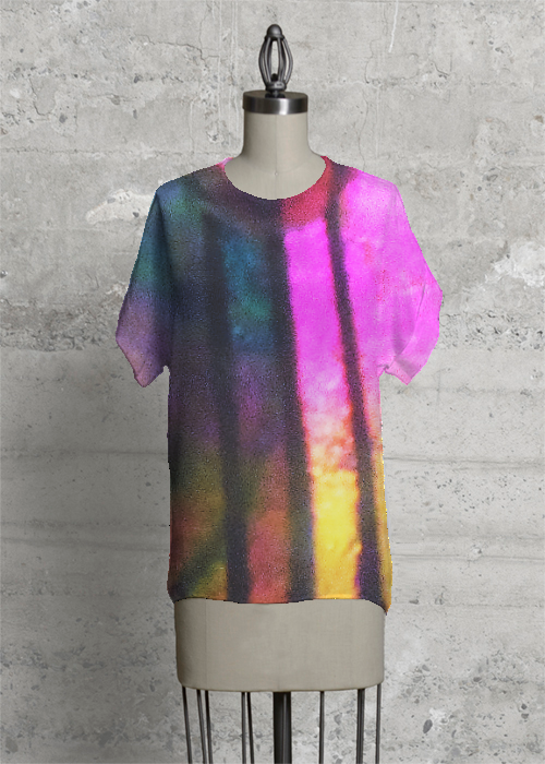 Splash of color tee