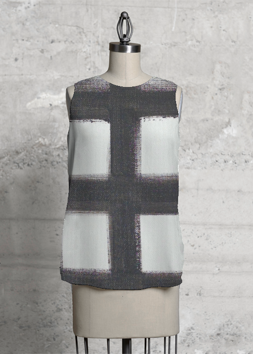 CHECKERED PAST sleeveless
