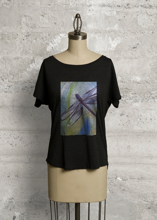 Dragonfly Black Tee
