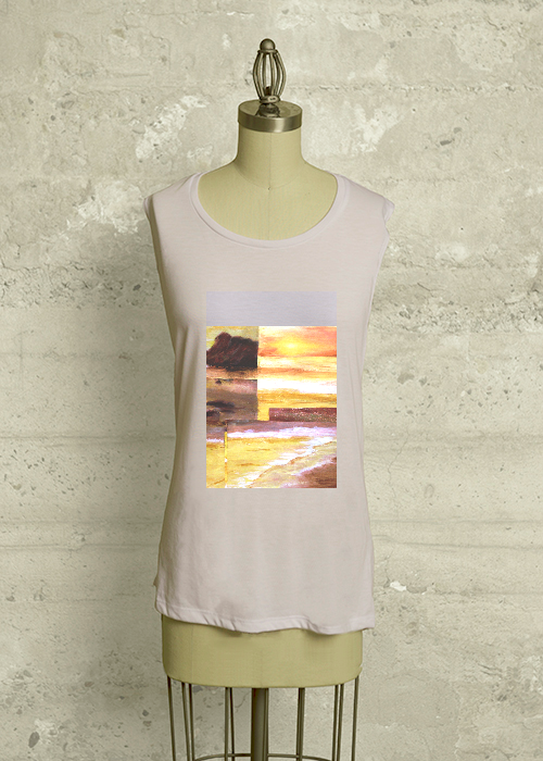 Golden Reflections tee