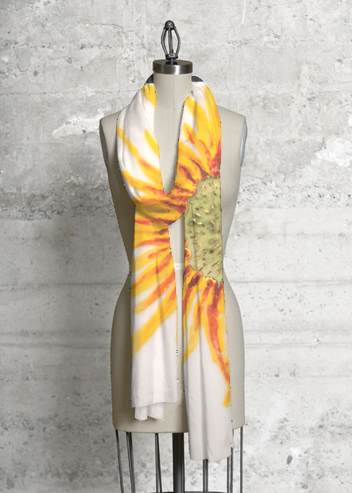 Sunflower Modal Scarf