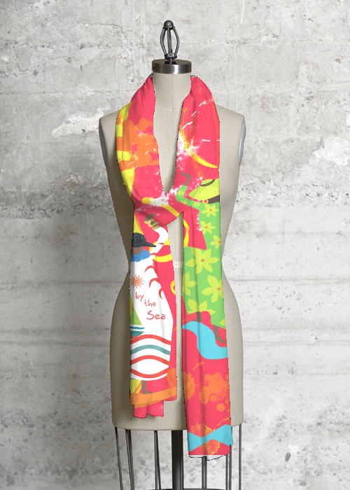 Dancing In Color Scarf