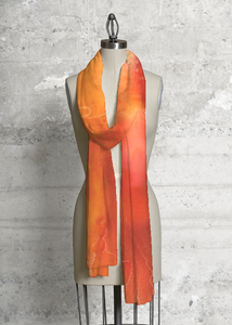 Silk Square Scarf - Dusk 1 by VIDA VIDA