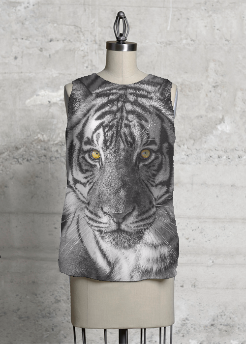 Yellow Eyes Sleeveless