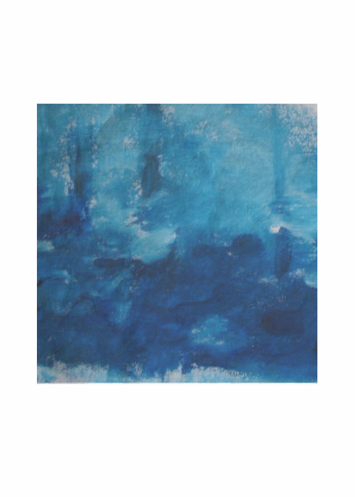 ABSTRACT BLUE 2 SQUARE