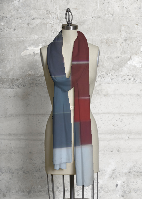 Primary P modal scarf