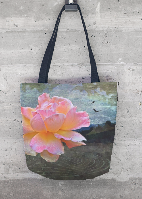 Labyrinth Rose Tote