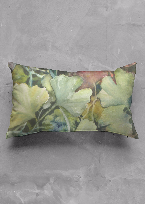 Ginkgo Leaves Pillow