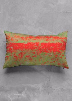 Product View - Accent Pillow - Luster Oblong titled Poppy Pillow - Luster