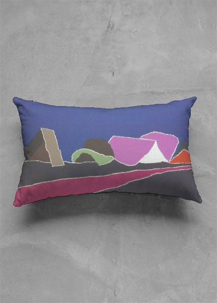 Accent Pillow - Matte Oblong